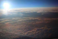 Croisière à 45000 pieds Photos libres de droits