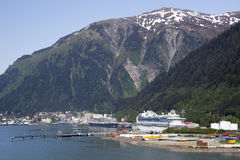 Croisière au capital d'Alaska Photo stock