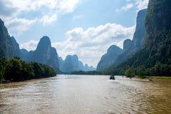 Croisière de Guilin à Yangshuo Photo libre de droits