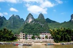 Croisière de Guilin à Yangshuo Photographie stock libre de droits