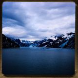Croisière de l'Alaska sorties du voyage 1970 et de la famille de vintage du ` s de 35 diapositives de millimètre Photos stock