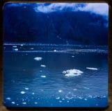 Croisière de l'Alaska sorties du voyage 1970 et de la famille de vintage du ` s de 35 diapositives de millimètre Photographie stock