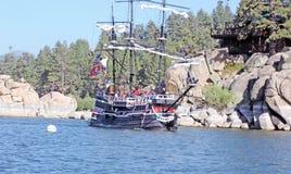 Croisière de lac photo libre de droits