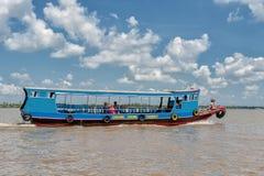 Croisière du Mekong Images libres de droits