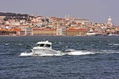 Croisière sur le Tagus Photo libre de droits