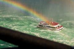 Croisières de chutes du Niagara image libre de droits