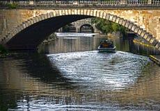 Croisières sur la rivière Avon à Bath Images libres de droits