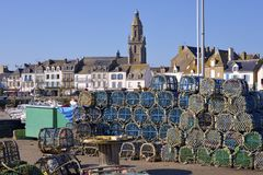 croisic бак омара Франции le Стоковое Изображение