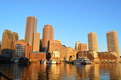 Croisière de port de Boston Images libres de droits