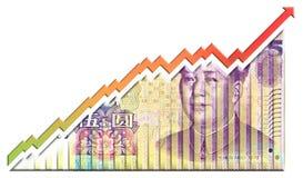 Croissance Bill Images libres de droits