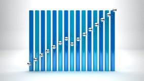 Croissance d'affaires Image stock