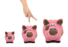Croissance d'argent d'économie images stock