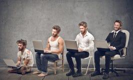 Croissance d'homme d'affaires Image libre de droits