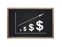 Croissance du dollar Image stock