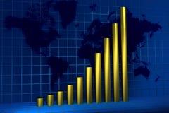 Croissance globale Photographie stock libre de droits