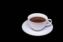 croissant γλυκό φλυτζανιών καφέ σπασιμάτων ανασκόπησης Στοκ εικόνες με δικαίωμα ελεύθερης χρήσης