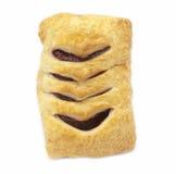 Croissant με τη μαρμελάδα Στοκ Εικόνες