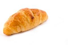 Croissant που απομονώνεται στο λευκό Στοκ Φωτογραφία
