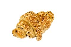 croissant σουσάμι Στοκ φωτογραφίες με δικαίωμα ελεύθερης χρήσης