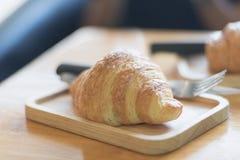 croissant φρέσκος Στοκ Φωτογραφίες