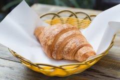 croissant φρέσκος Στοκ Εικόνες