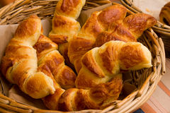 Croissant. Picture of some croissants (french bread or pastry stock photos