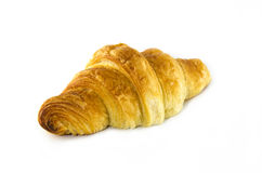 Croissant. On white background Royalty Free Stock Images