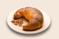 Croissant royalty-vrije stock afbeelding