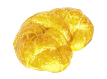 Croissant. A croissant is a type of pastry, classically made with puff pastry dough so that it is light, flaky, and extremely buttery royalty free stock images