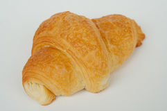 Croissant 5. Crackling croissants with cheese a close up Stock Photos