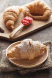 Croissant Fotografia de Stock Royalty Free