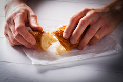 Croissant Obrazy Stock