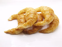 Croissant. Isolated on a white background Royalty Free Stock Photography