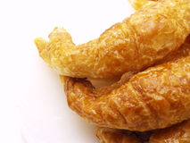 Croissant. Isolated on a white background Stock Photos