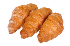 Croissant. Isolated on white background Stock Images