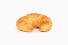 Croissant aislado en blanco Imagen de archivo