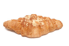 Croissant with almond Stock Images