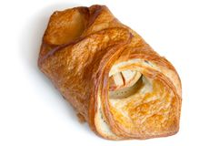 Croissant with apple Royalty Free Stock Photography