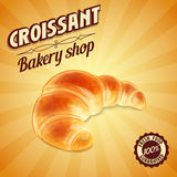 Croissant BANNER Stock Images