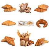 Croissant. Bread Breakfast Pastry Bun Sweet Bun French Culture stock image