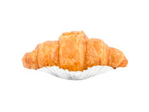 Croissant bread isolated Stock Photography