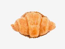 Croissant bread isolated Stock Images