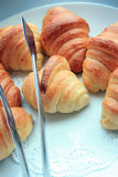 Croissant breads Royalty Free Stock Photos