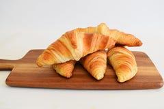 Croissant caseiros frescos Fotos de Stock Royalty Free