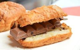 Croissant, Chocolate, Breakfast Stock Image