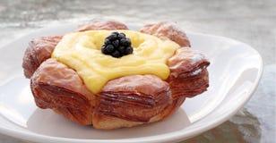 Croissant classé par citron Photo libre de droits