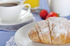 Croissant closeup Royalty Free Stock Image