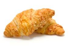 Croissant cocido al horno fresco fotografía de archivo libre de regalías