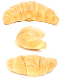 Croissant. collage Royalty Free Stock Images