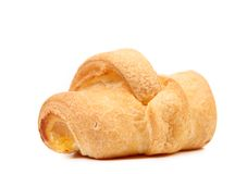 Croissant or crescent roll. Cose up. royalty free stock photo